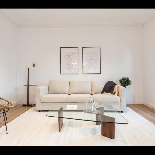 Spacious and luxurious flat in Barcelona
