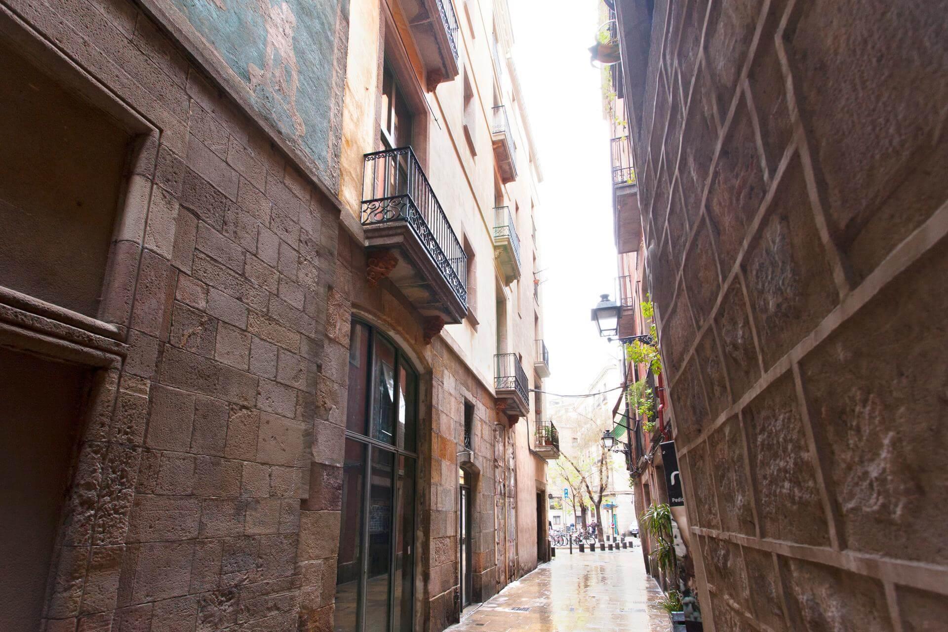 Vell - Piso en el centro de Barcelona