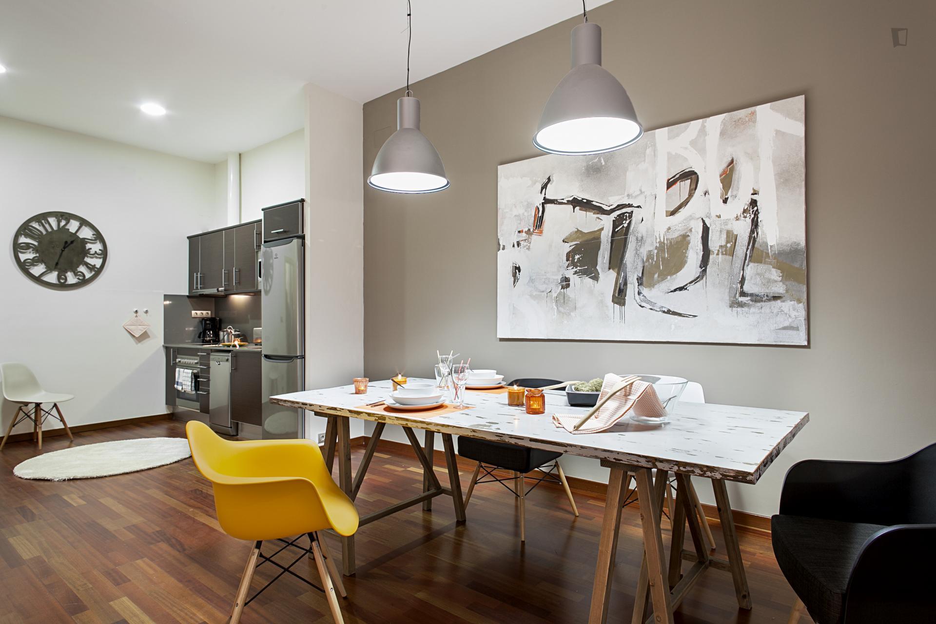 Portaferrissa - Modern furnished studio in Barcelona