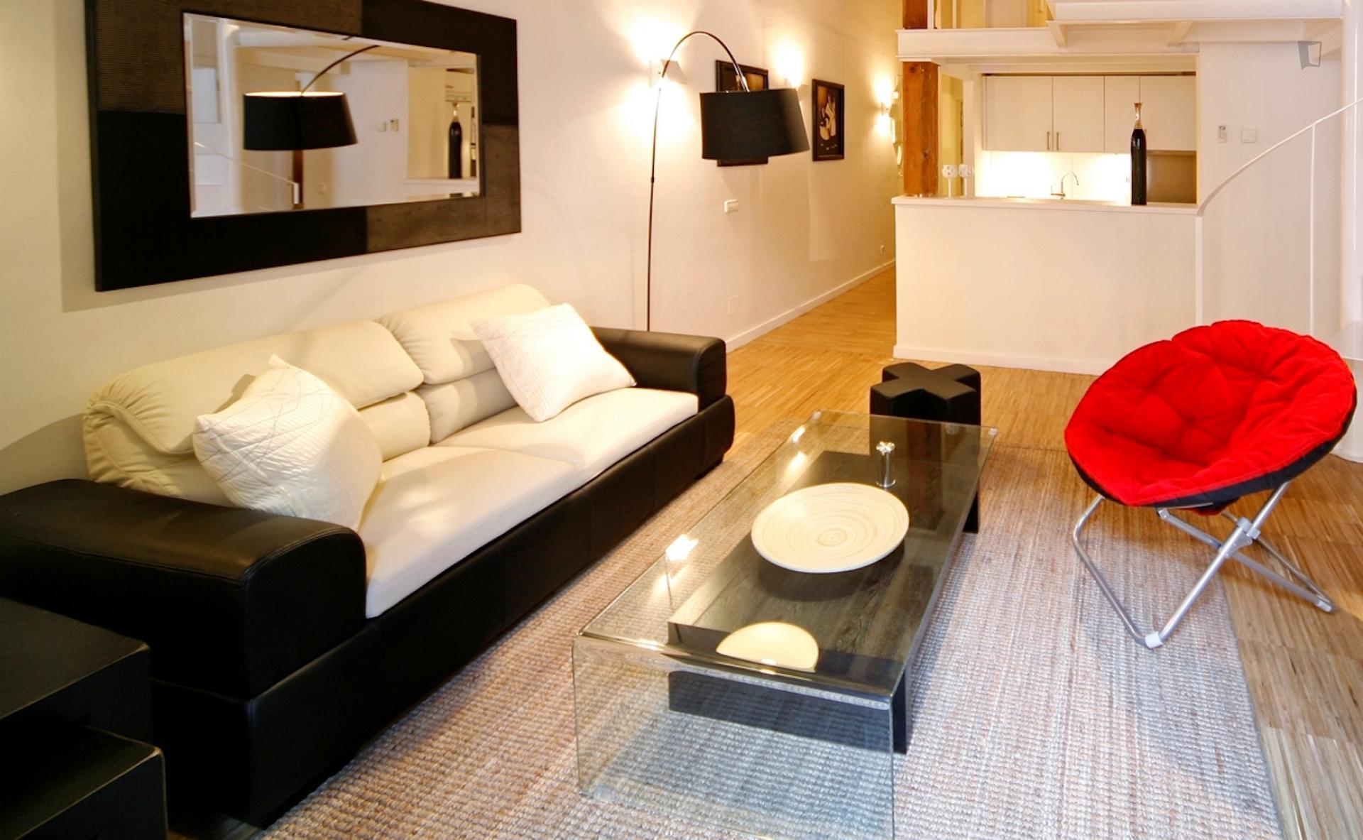 Atocha - 3 bedroom flat in Madrid