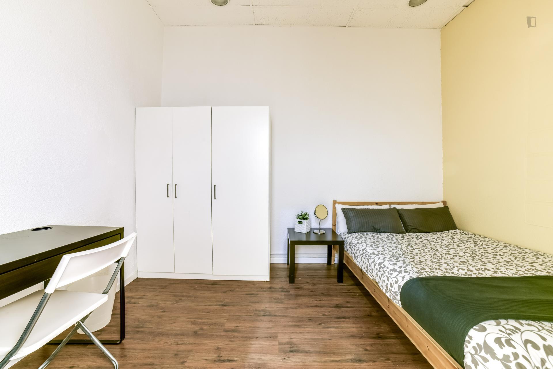 Lovely bedroom in Madrid