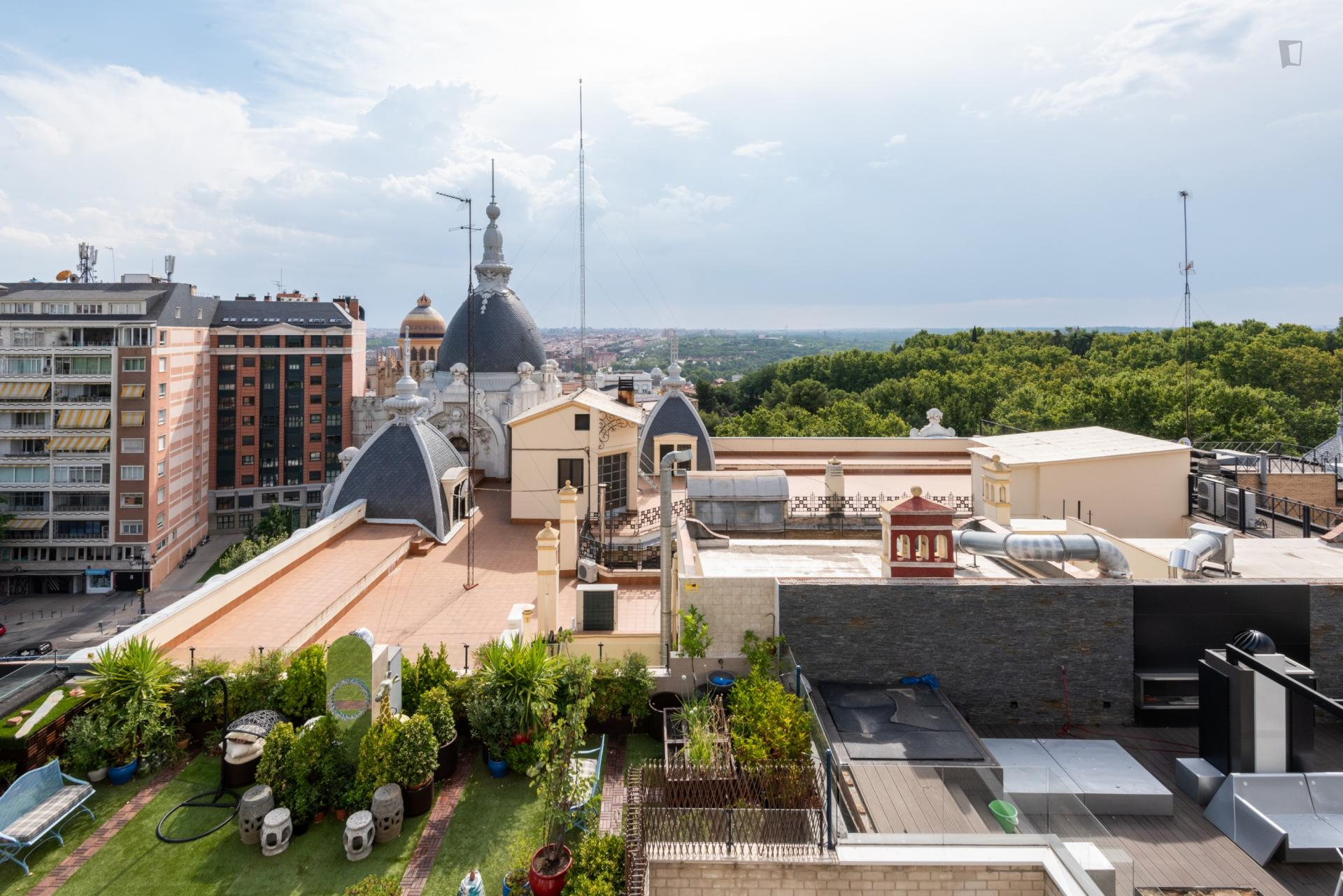 Mendizabal - Ático en Madrid centro