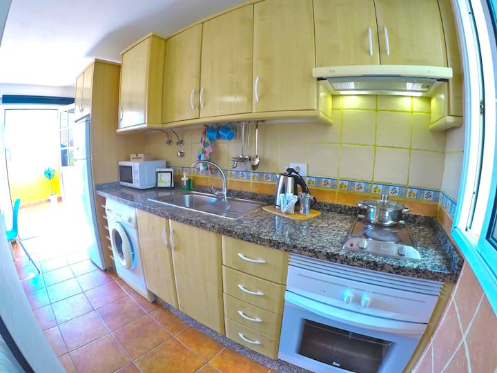 Ester - Seaview apartment for expats on Tenerife