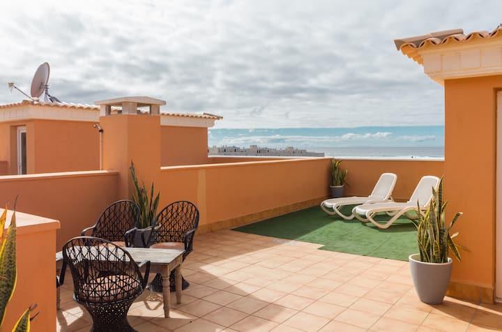 Happy - Seaview apartment on Fuerteventura