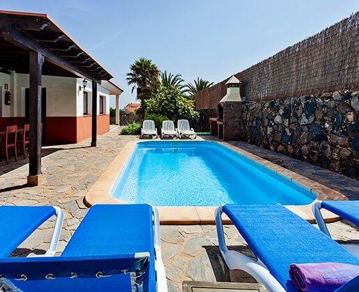 La vera - House with pool on Fuerteventura