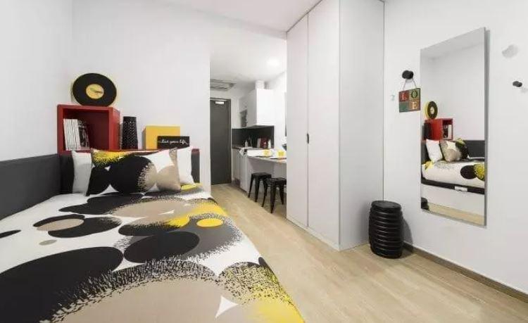 San Bernardo 2 - Student studio in Madrid