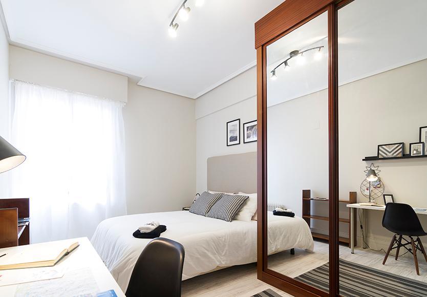 Kalea 12 - Habitación lista para entrar en Bilbao