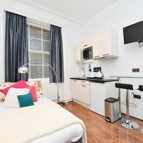 Inverness-Elegant Studio Apartment in London