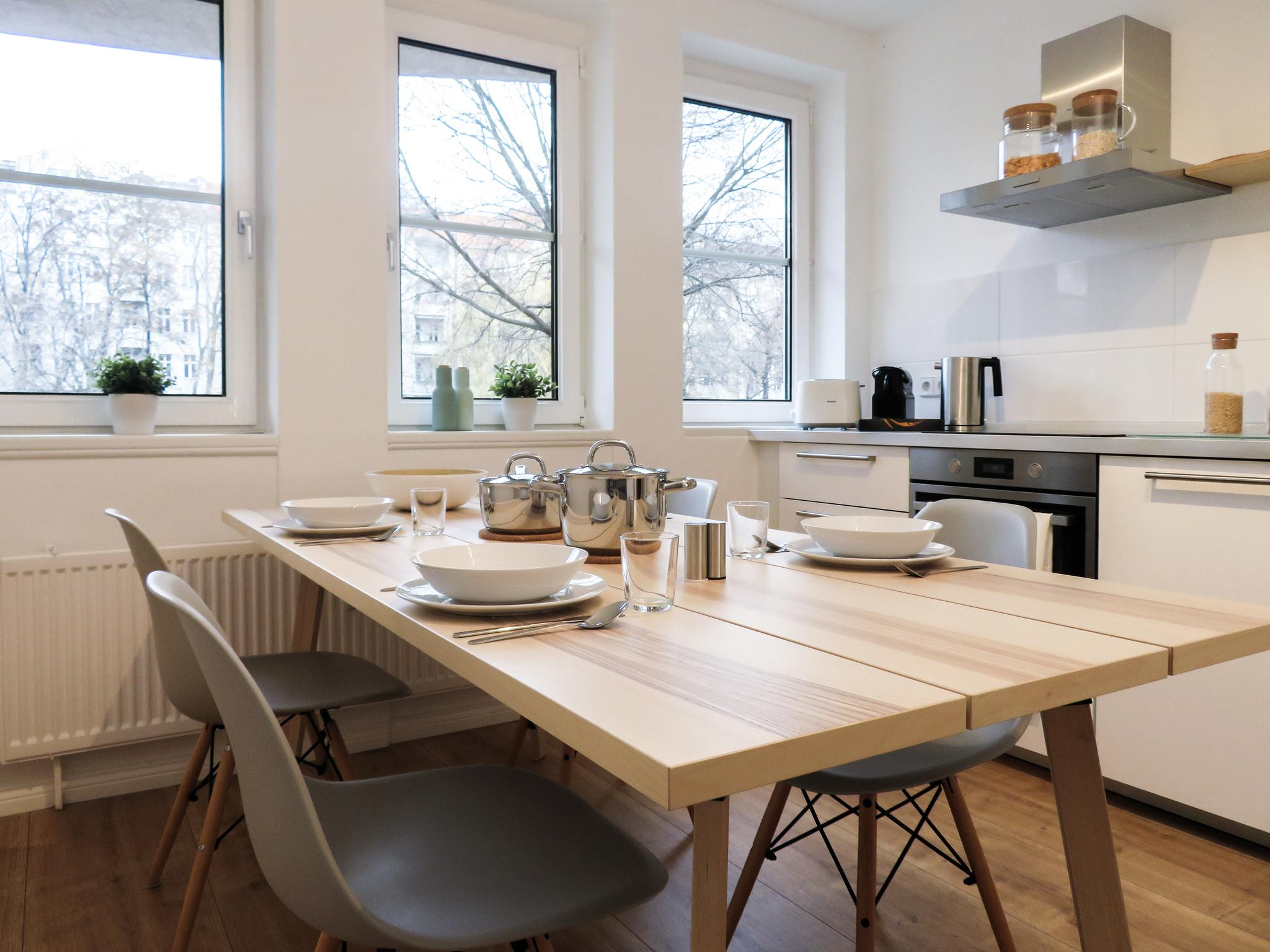 Maybach - Spacious furnished apartment in Berlin