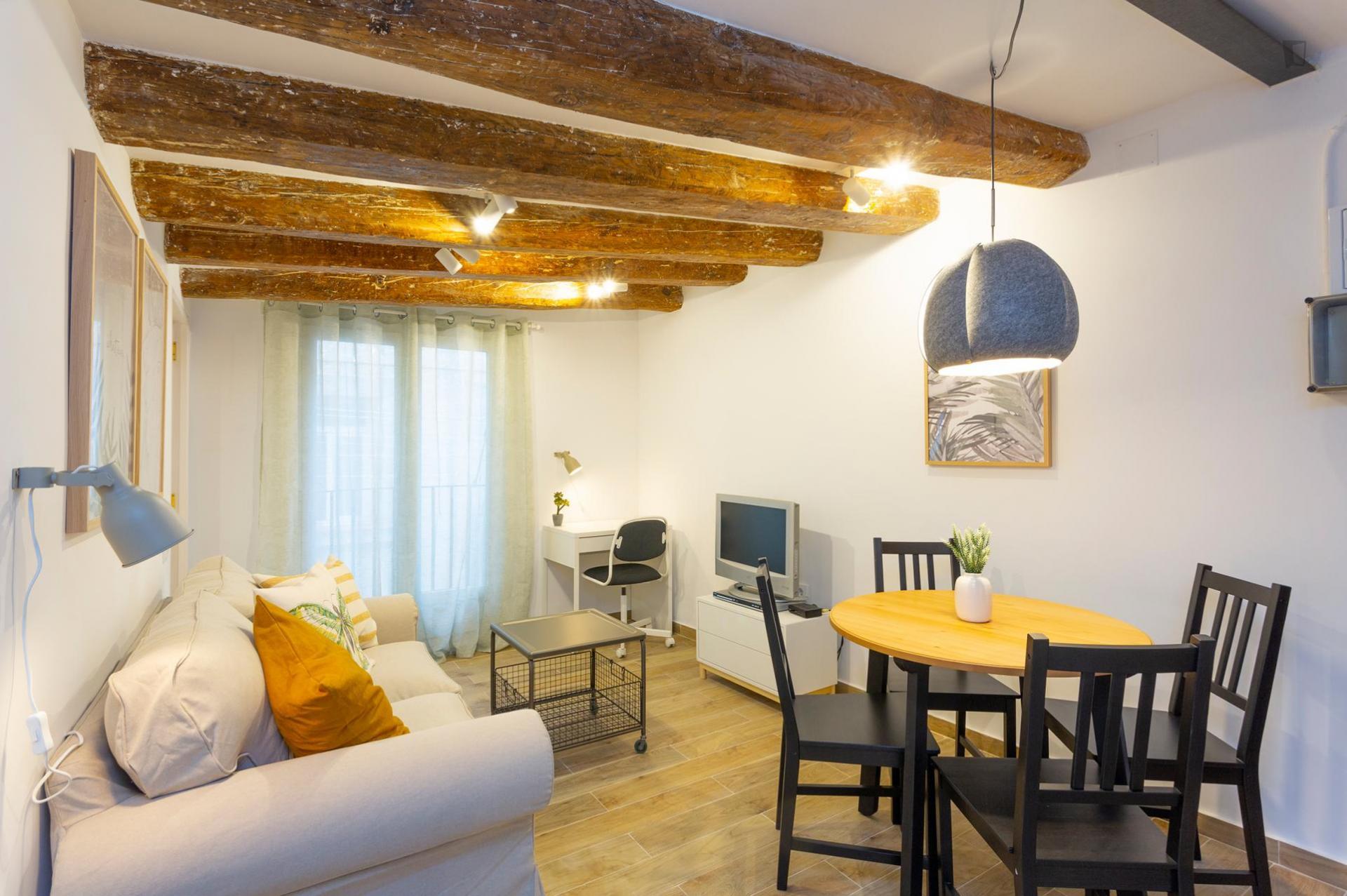Apartamento amueblado en Barcelona