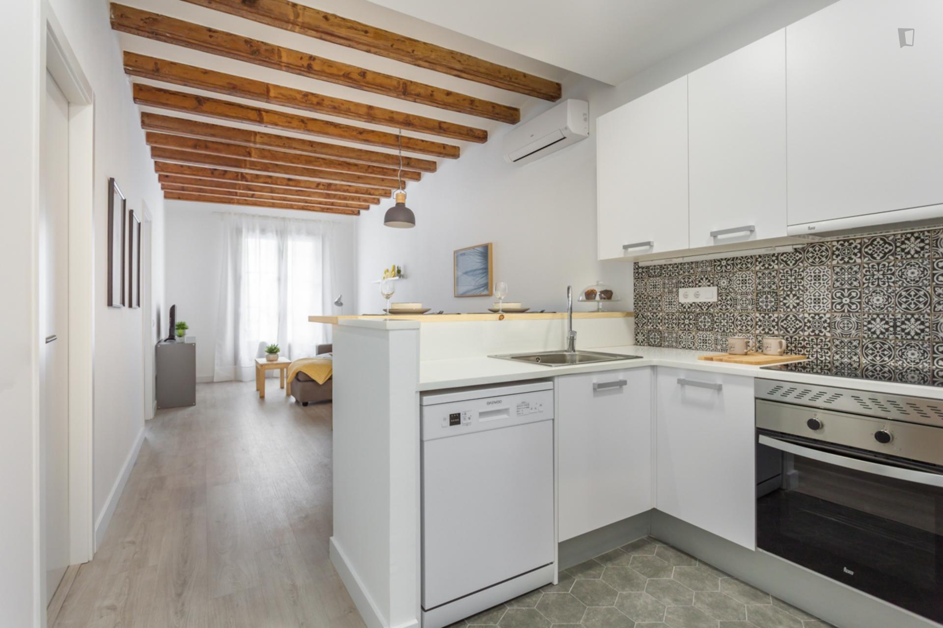 Paloma 3 - Precioso piso amueblado para expats en Barcelona