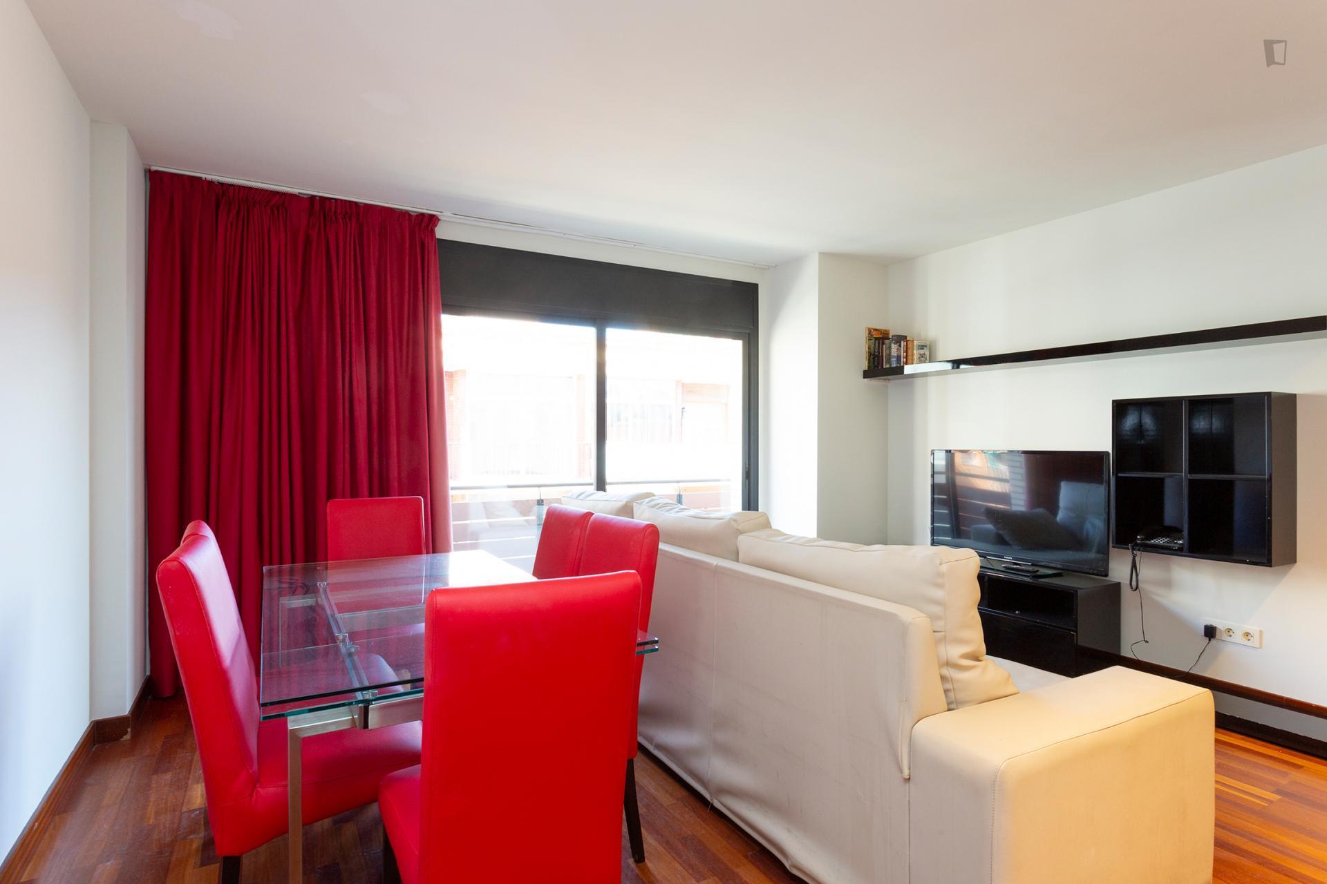 Telegraf - Modern furnished flat in Barcelona