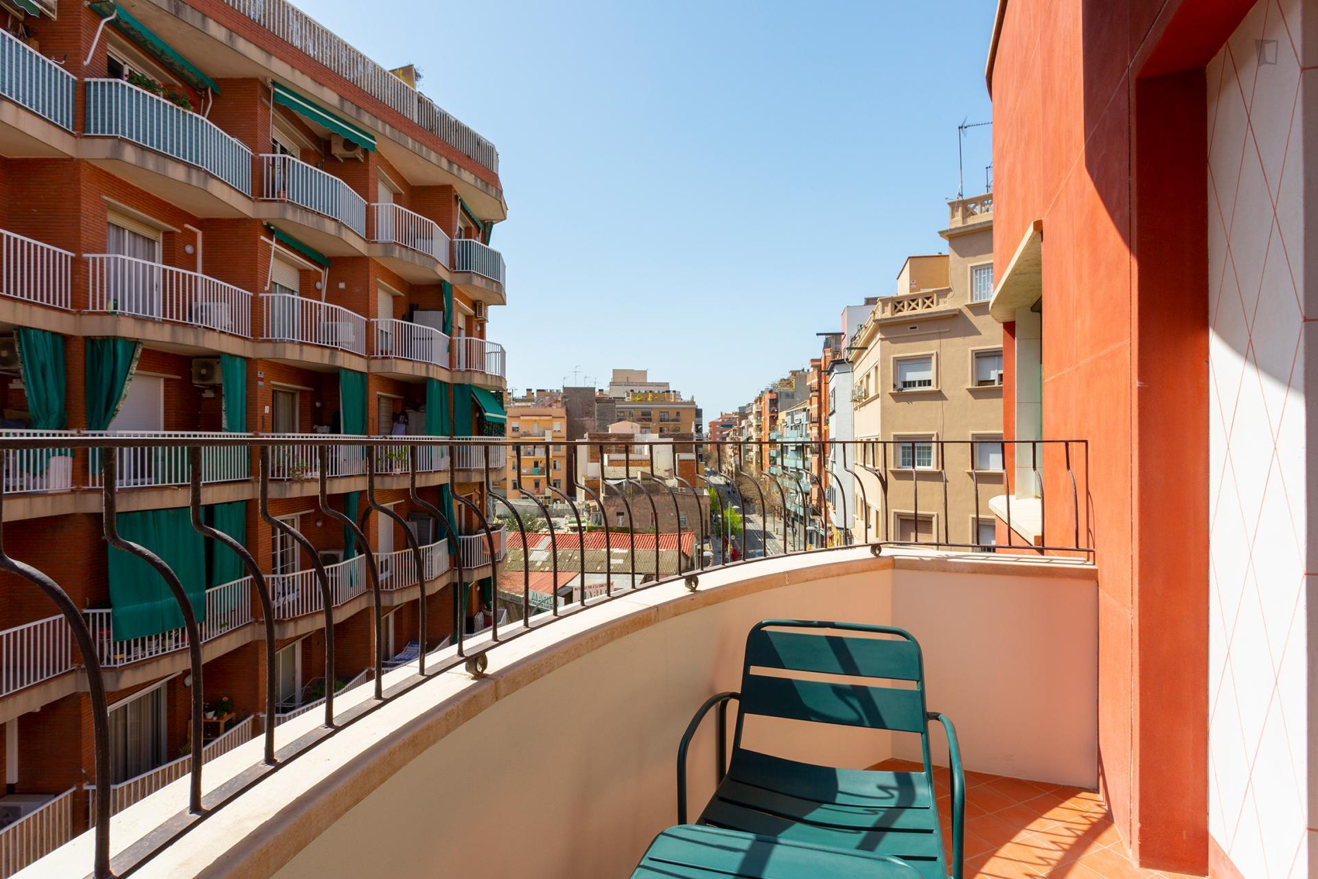 Portugalete 3 - Piso amueblado para expats en Barcelona