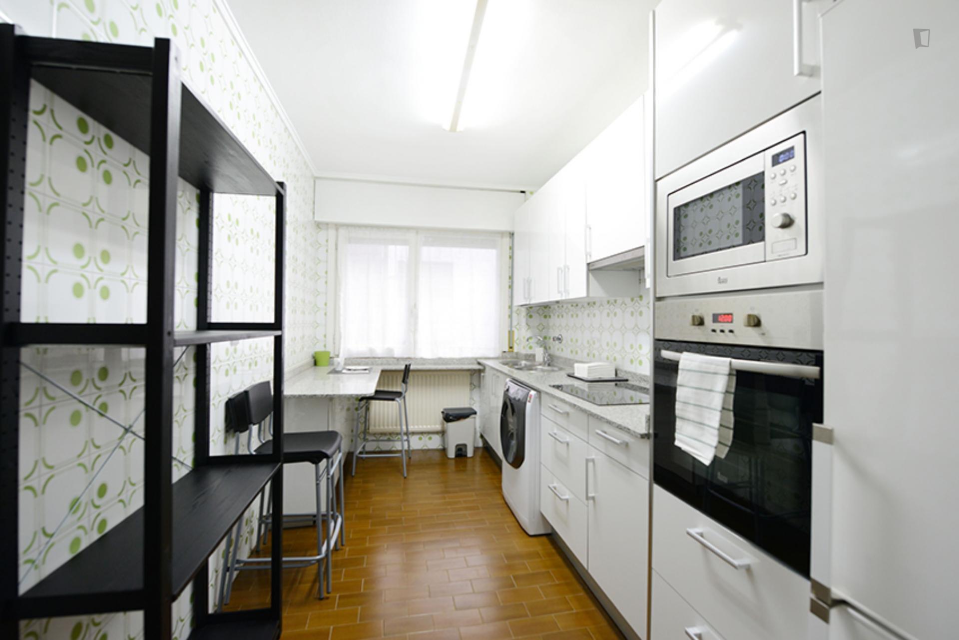 Kalea - Double bedroom in Bilbao