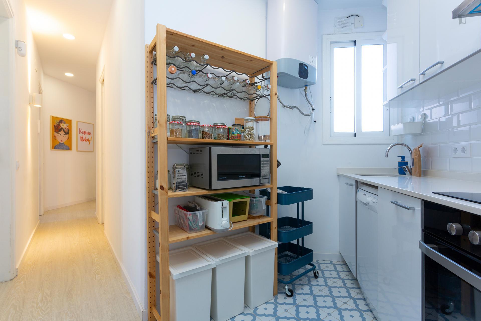 Acogedor piso en pleno Barcelona