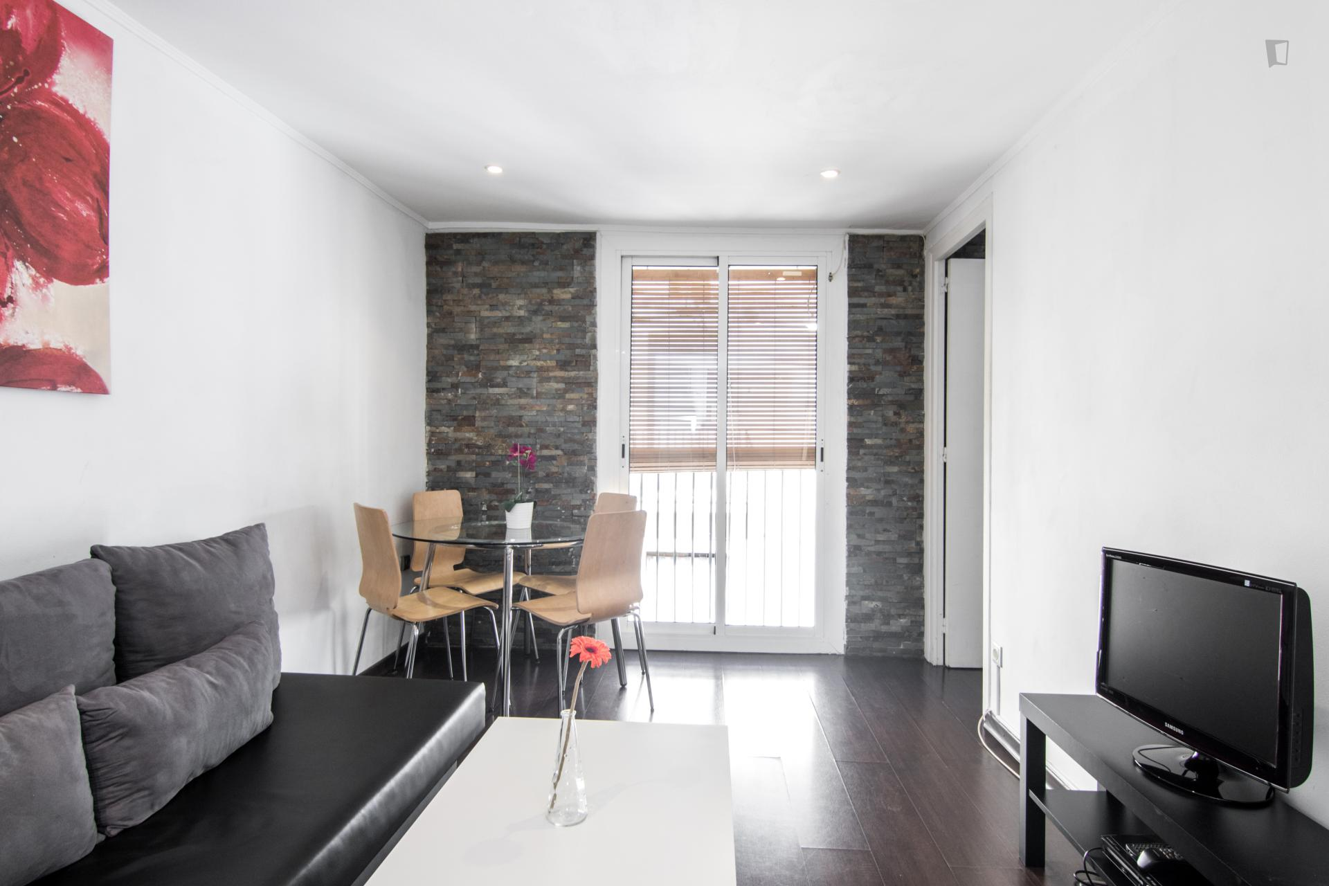 Barbera - Entry ready apartment in Barcelona
