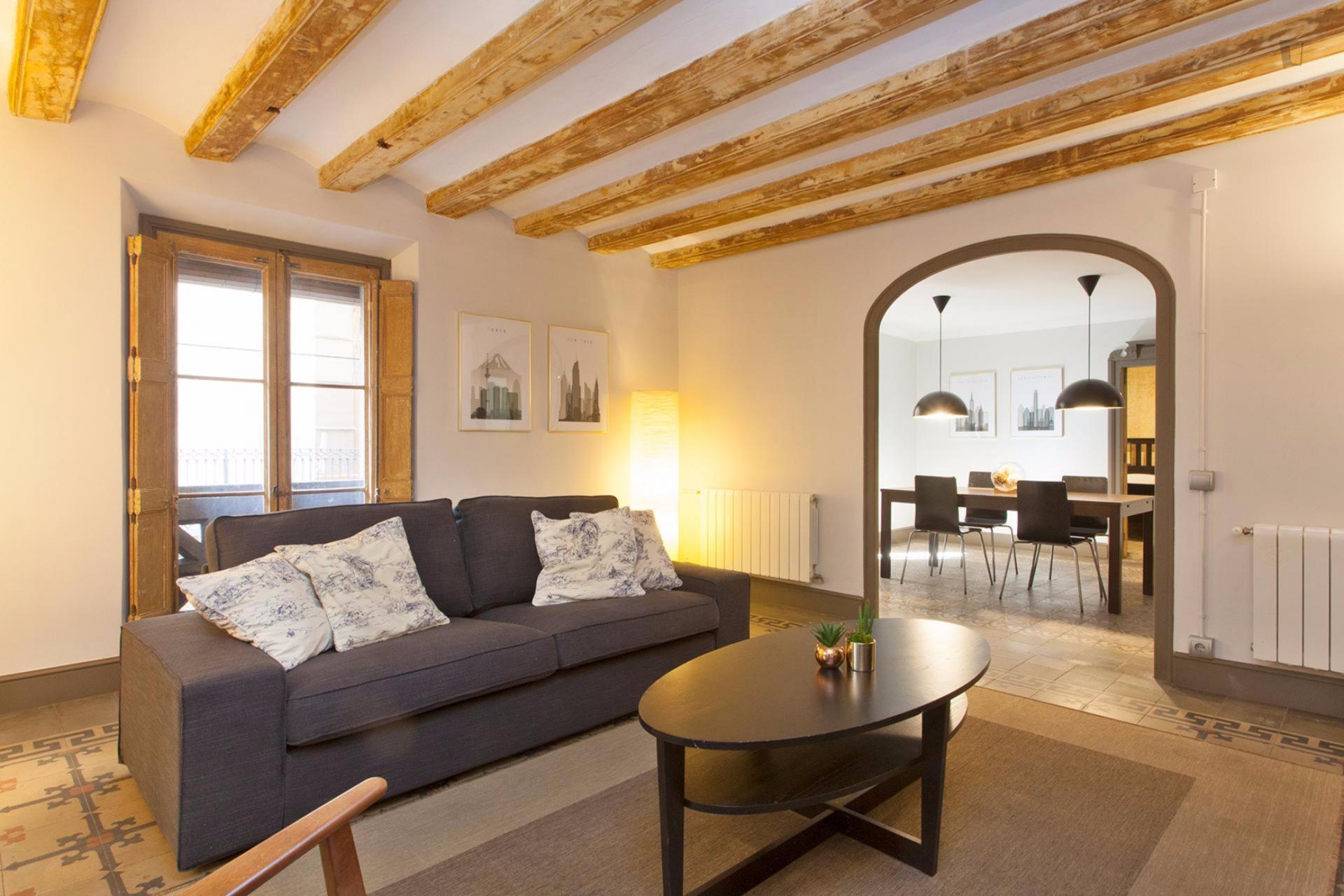 Palau - Piso amueblado en alquiler en Barcelona