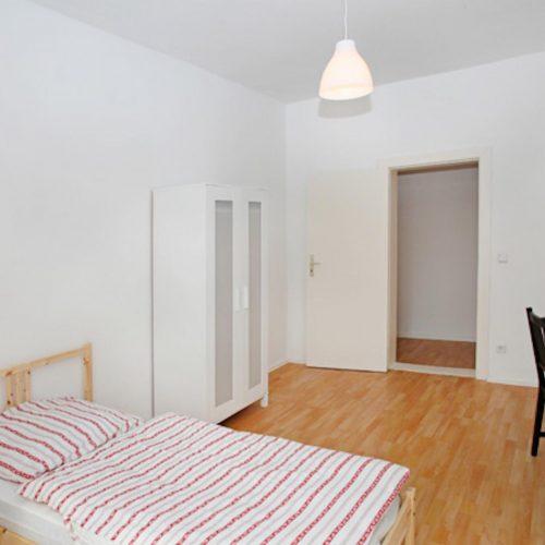 Nacken - Furnished single bedroom in Berlin