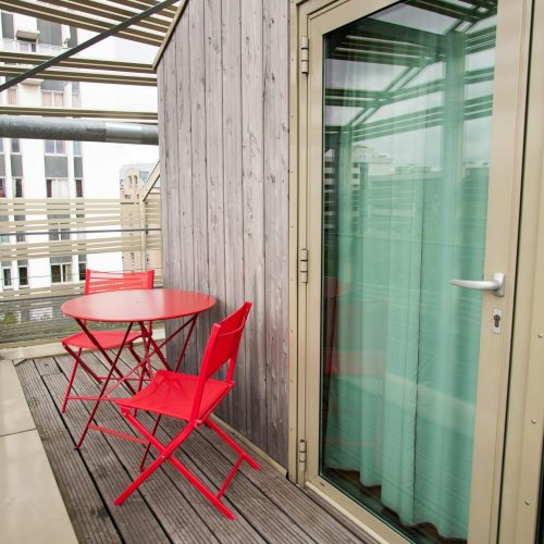 Rue de Crimee- Apartment with a terrace in Paris