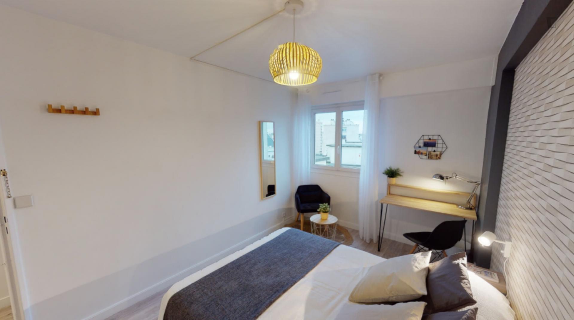Sante - Excellent double bedroom in Paris