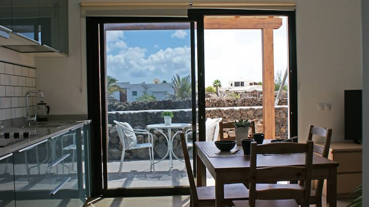 East - Equipped studio on Fuerteventura