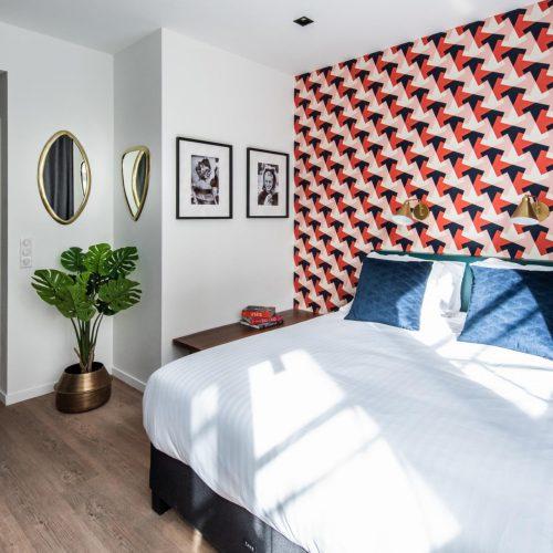 Trendy student studio in Paris